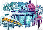 Berlin Travel (id: 10332) falikép keretezve
