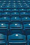 Kék széksor (id: 16732) poszter