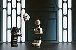 LEGO STAR WARS - Egy fontos jelenet (id: 16932) falikép keretezve