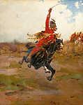 Lovas csatajelenet (id: 19632) poszter