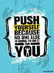 Nyomd meg magad, mert senki más nem fog megtenni (id: 11733) poszter