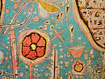 Paul Klee: Efflorescence (részlet) - színverzió  2. (id: 12133)