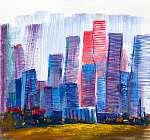 Paul Klee: Színes felhőkarcolók (id: 16133) poszter