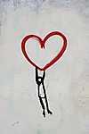 Emelkedj a szerelemmel (id: 16733) falikép keretezve