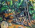 Paul Cézanne: Malomkő (id: 433) vászonkép