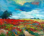 Virágmezők (id: 4433) poszter