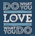 Mit szeretsz, szeretsz, amit csinálsz (id: 6633) többrészes vászonkép
