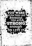 Motivációs idézet plakát grunge háttérben (id: 6833) falikép keretezve