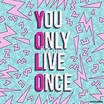 Yolo inspirációs motiváció idézi a 80-as évek hátterét (id: 9633)