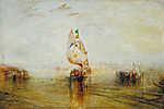 William Turner: Velence látképe a tenger felől nézve (id: 20334) vászonkép óra