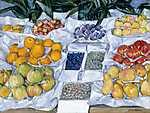 Paul Gauguin: Gyümölcsös stand (id: 3134) vászonkép