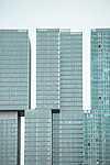 Partner Kollekció: Felhőkarcolók, Rotterdam, Hollandia (id: 16835) vászonkép óra