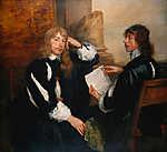 Anthony van Dyck : Thomas Killigrew és Lord William Crofts portréja (id: 19535) tapéta