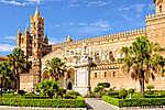 Palermo székesegyház szentelték a Szűz Mária felemlékezését (id: 10936) poszter