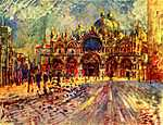 Szent Márk tér (id: 1436) többrészes vászonkép