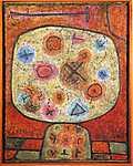 Paul Klee: Virágok a kövön (id: 2636) poszter