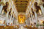 A Montreale-i katedrális vagy a Duomo di Monreale belseje a köze (id: 10937) vászonkép óra