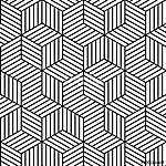 Vector geometrikus zökkenőmentes minta háttérben. (id: 11037)
