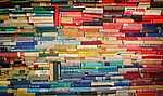 A könyvek sokszínűsége (id: 16937) vászonkép