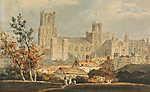 William Turner: Elyi székesegyház (id: 20337) vászonkép