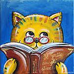 Macska olvasás (id: 5337)