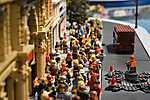 LEGO - Utcakép (id: 16938) vászonkép óra