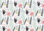 Virágok tapétaminta (id: 18038) bögre