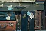 Régi bőröndök (id: 16939) többrészes vászonkép
