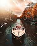 Amszterdam ősszel (id: 17139) falikép keretezve