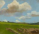 Mednyánszky László: Tájkép felhőkkel (id: 20039) többrészes vászonkép