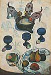 Paul Gauguin: Csendélet három kutyakölyökkel (id: 3939)