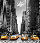 Avenue taxival New Yorkban. (id: 12340)