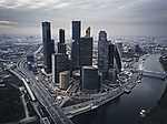Moszkva felhőkarcolói (légifotó) (id: 14340)