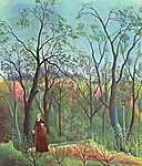 Egon Schiele: Az erdőben (id: 3140) vászonkép óra