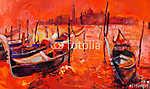 Vörös naplemente Velencében (id: 4440) tapéta