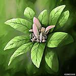 a csendélet virágja  (id: 11441) többrészes vászonkép
