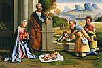 A pásztorok köszöntik a kis Jézust (id: 12041) poszter