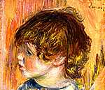Fiatal lány portréja (id: 1441) vászonkép