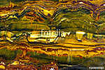 Gem. Abstract  mineral color texture - detail. (id: 15841) falikép keretezve