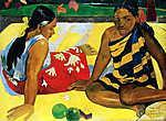 Tahiti nők - Színverzió 1. (id: 3941) tapéta