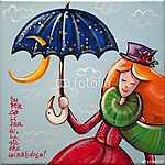 Boldog lány (id: 5341) vászonkép