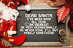 Blackboard egy karácsonyi Vicces szöveg egy fogalmi kép (id: 7041) többrészes vászonkép