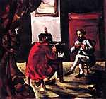Paul Cézanne: Paul Alexis felolvas Zolának (id: 442) poszter