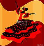 Spanish woman dancer (id: 13743)