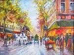 Pierre Auguste Renoir: Eredeti olajfestmény Paris (id: 10644) poszter