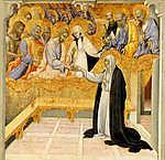 Giovanni di Paolo: Sziénai Szent Katalin misztikus eljegyzése (id: 12044)