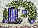 Lila bejárat (id: 17944) tapéta