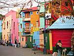 Buenos Aires, Caminato színes házai (id: 9144) vászonkép