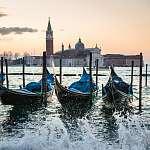 Velence, Olaszország (id: 10045) falikép keretezve