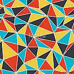 Geometrikus varrat nélküli mintázat retro stílusban. Vintage hát (id: 11045)